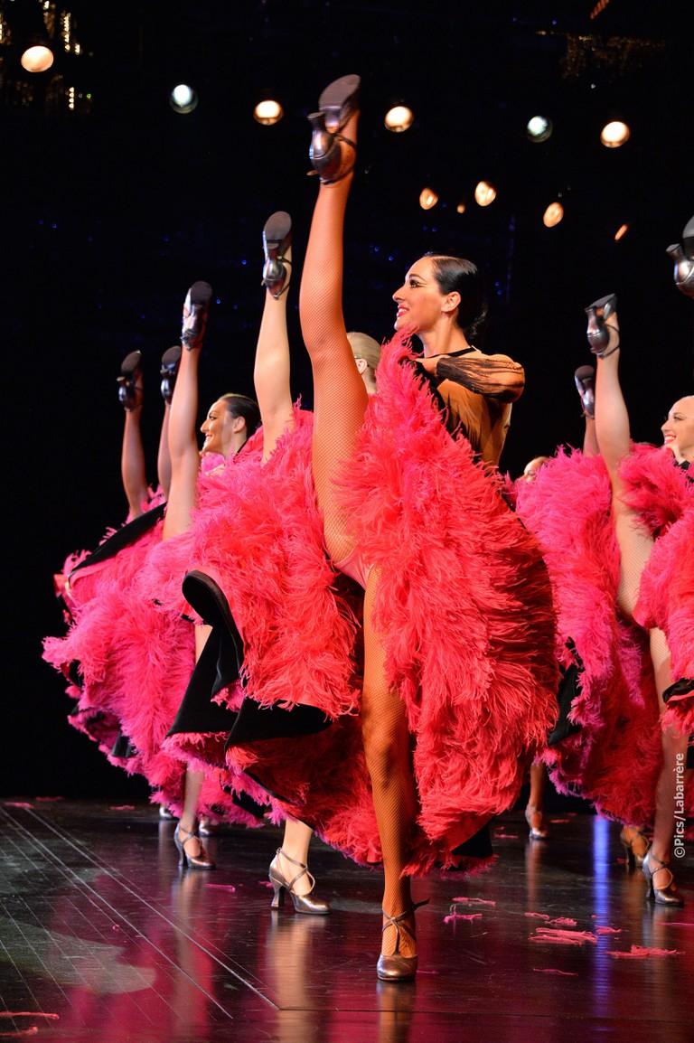 Le Lido cabaret dancers