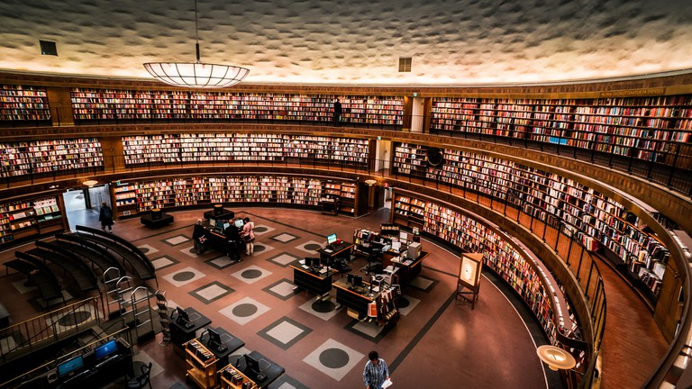 Stockholm State Library interior | © chibicode / Flickr