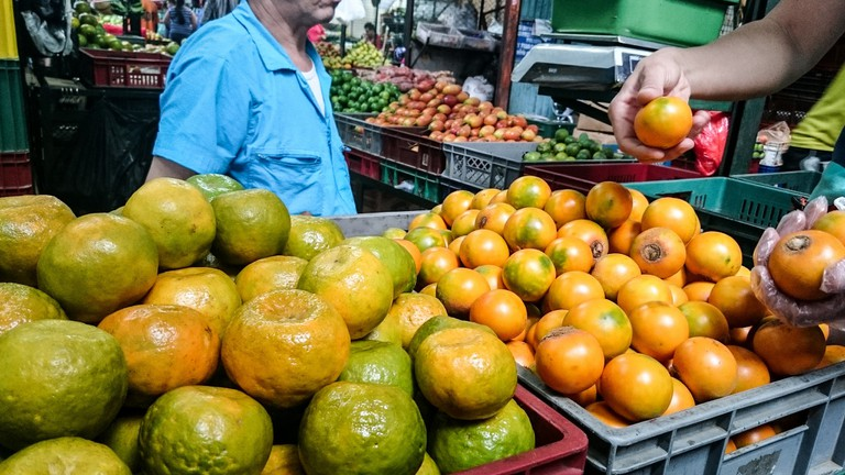 There are so many delicious fruits to sample in Medellín's markets