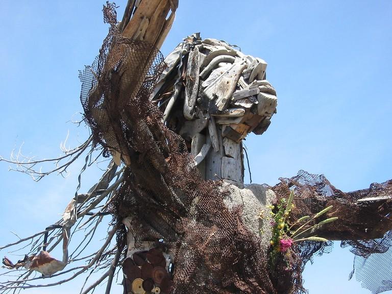 Albany Bulb Sculpture Ι