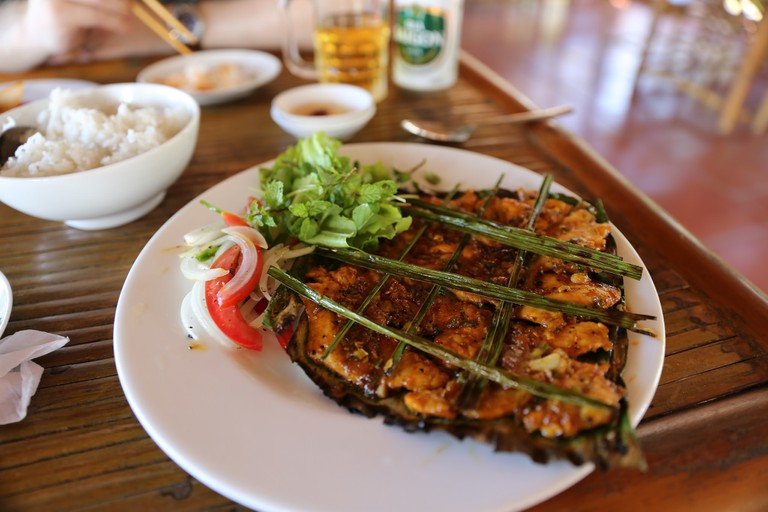 Local Vietnamese food in Hoi An