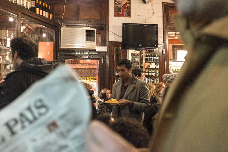 STOP Madrid, one of the city's oldest taverns