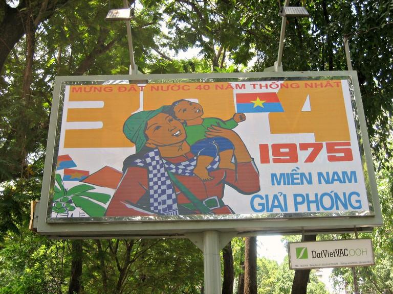 Pro-Vietnamese propaganda is encouraged
