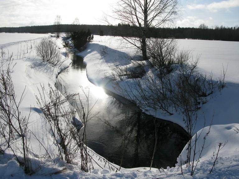 Lempäälä in winter