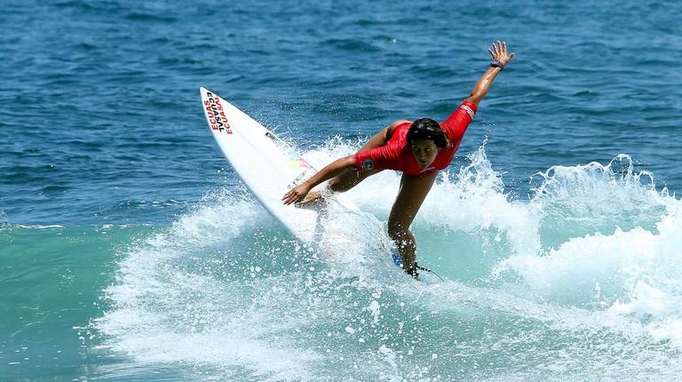 Competición de Surf, Montañita