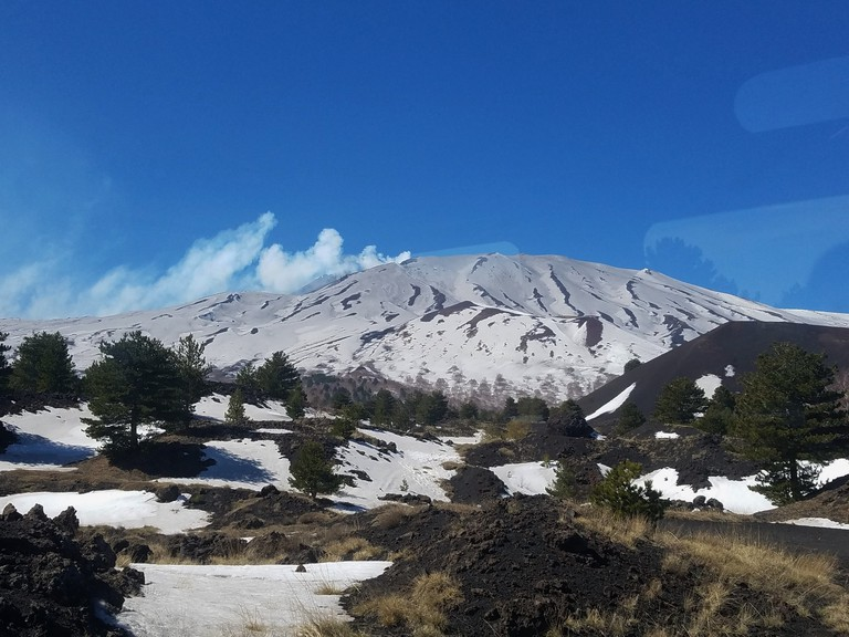 View from Mt. Etna