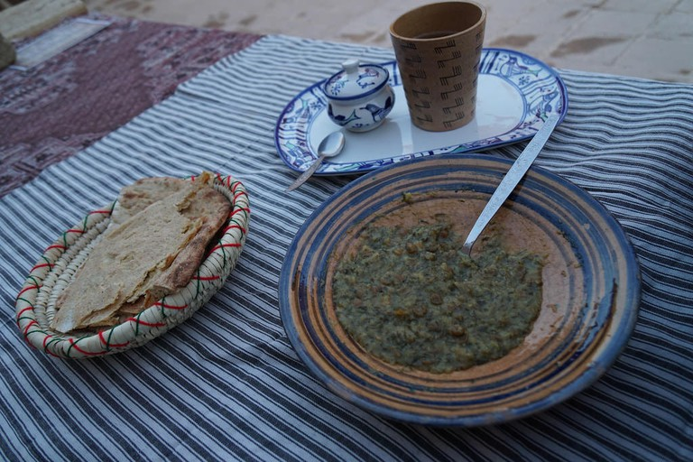 Shuli is the special vegetarian soup in Yazd