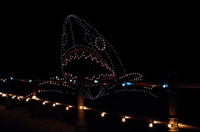 Christmas lights along Virginia Beach I