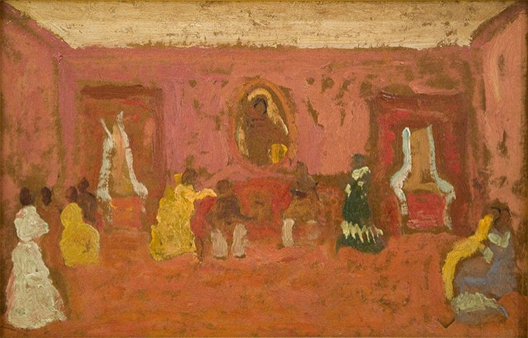 A painting by Uruguayan artist Pedro Figari