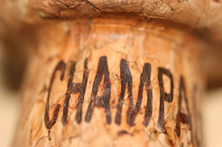 A champagne cork leaves a bottle at up to 60mph