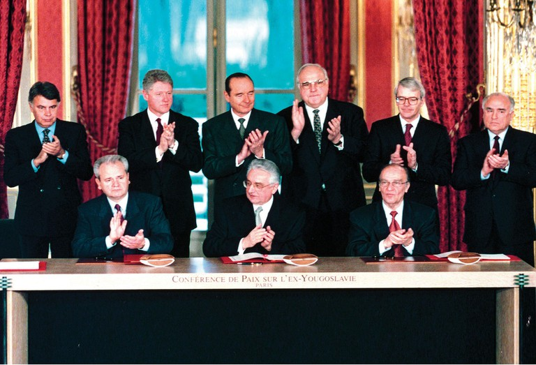 The Dayton Accords ended the Bosnian War