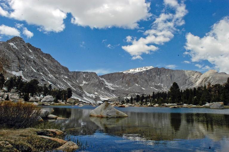 Golden Trout Wilderness lake