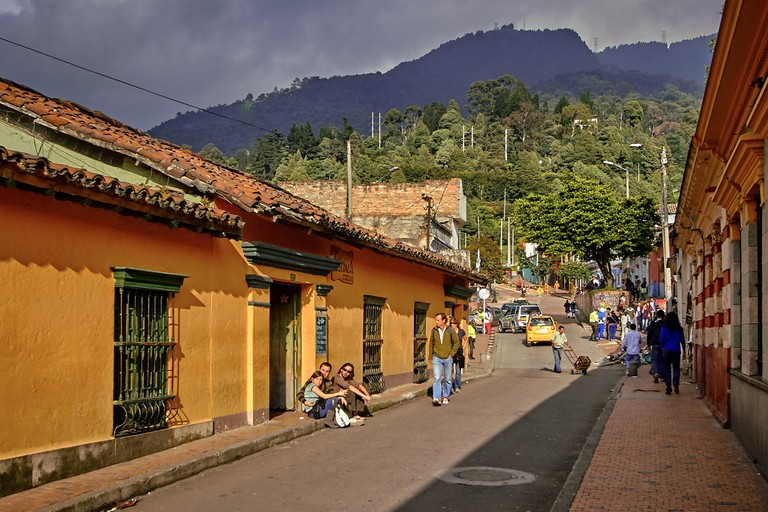 Bogotá is a beautiful city, but it can often be cloudy and rainy