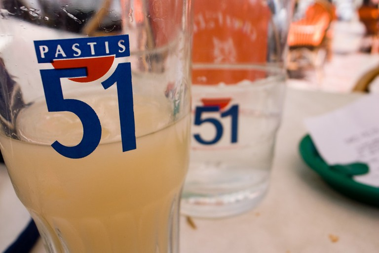 Pastis served Chilled