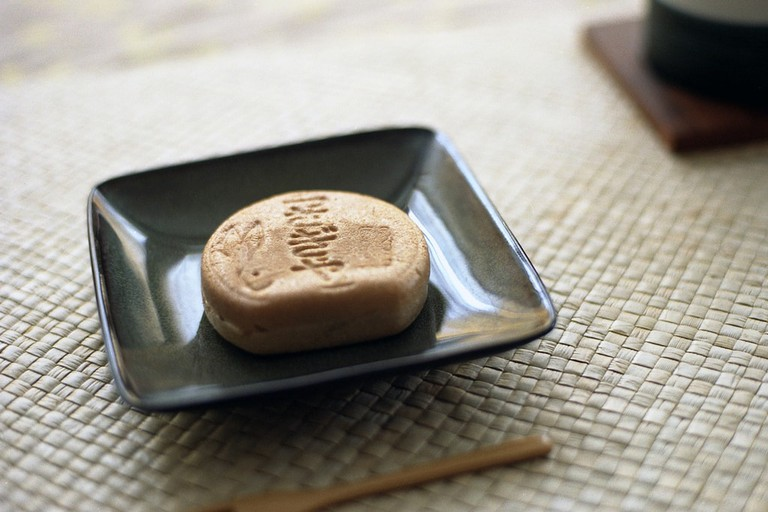 Monaka are a type of wagashi