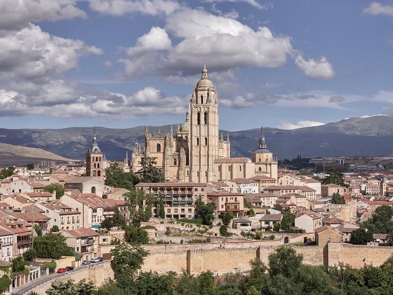 Segovia vista desde el Alcázar