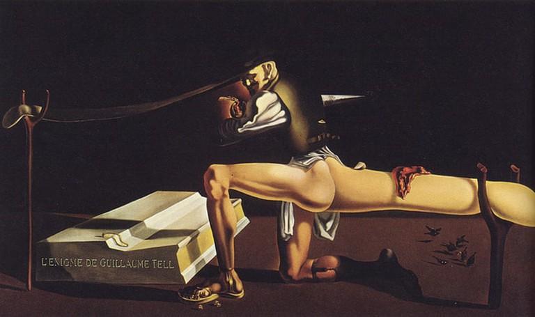 Salvador Dali, L'Enigme de Guillaume Tell