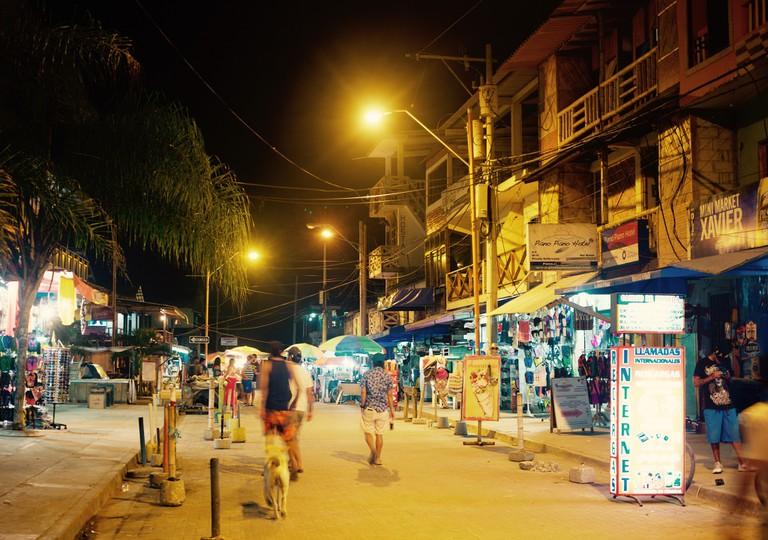 Nights in Montañita
