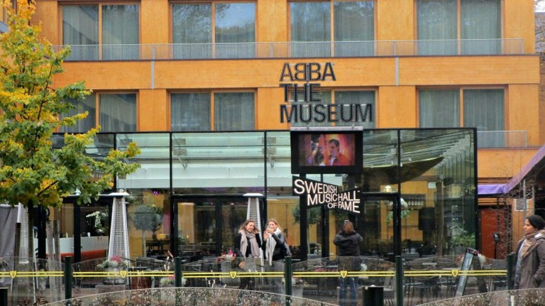The exhibition is here, at the ABBA Museum