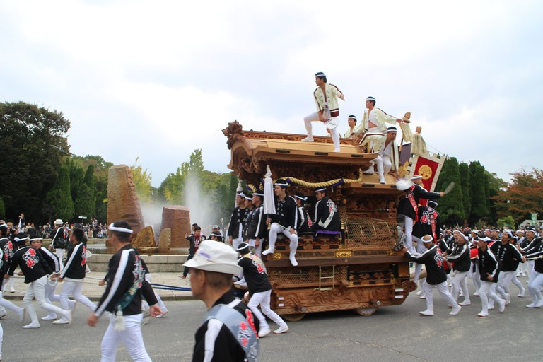 Danjiri float