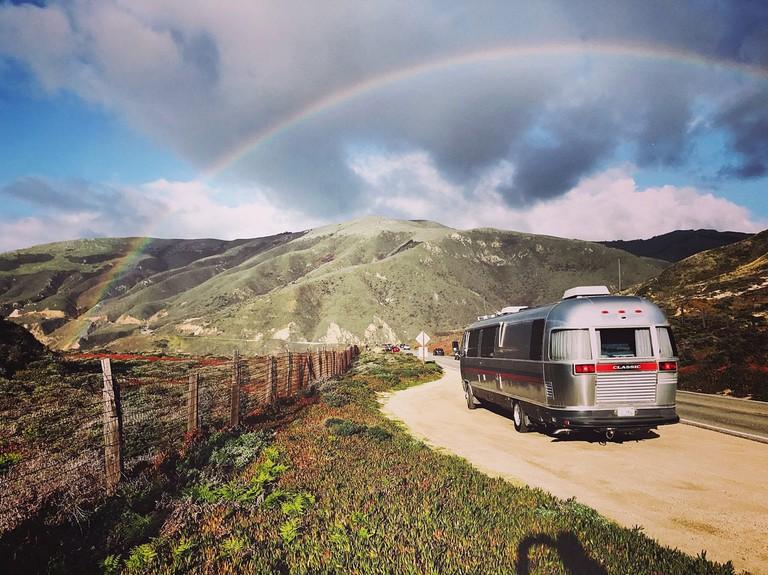 Big Sur Rainbow New Years Eve 2016