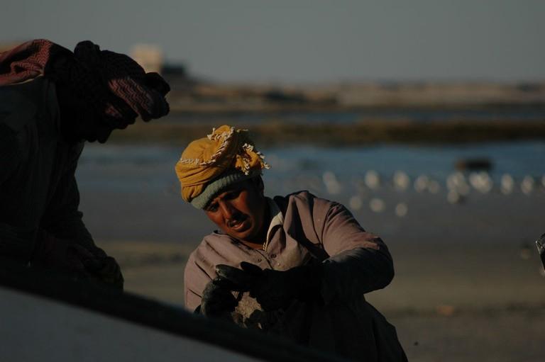 Omani Fisherman © Hendrik Dacquin