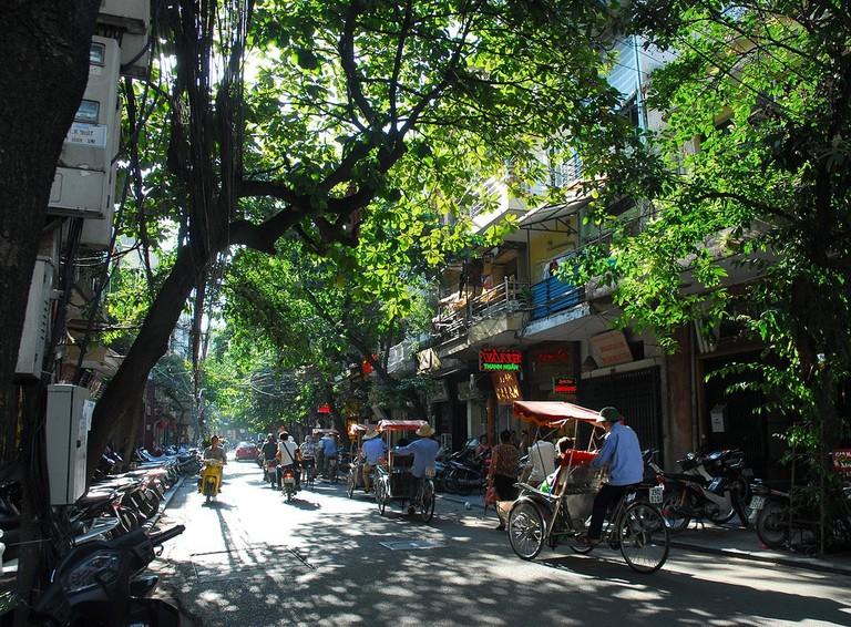Romantic cyclo ride through the Old Quarter   © Bao Pham/Flickr