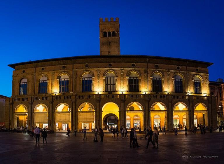 Palazzo del Podestà by Night