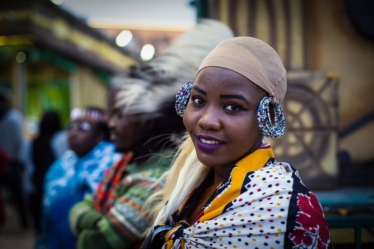 Dubai is home to a vibrant West African community, among many others