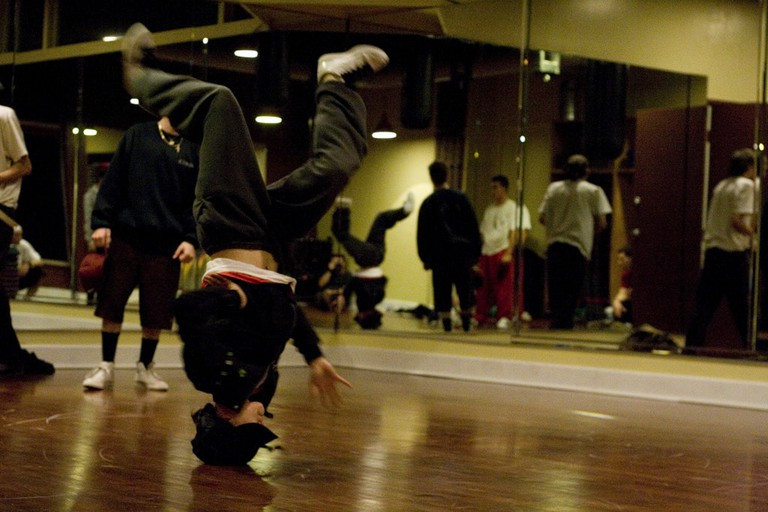 Yabai is often heard among the Japanese b-boy scene