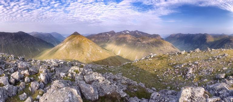 The Mountains of Glen Coe