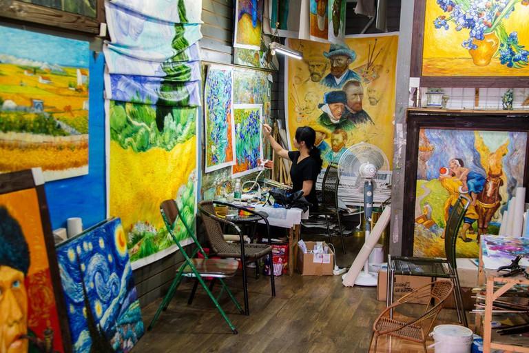 Dafen Oil Painting Village