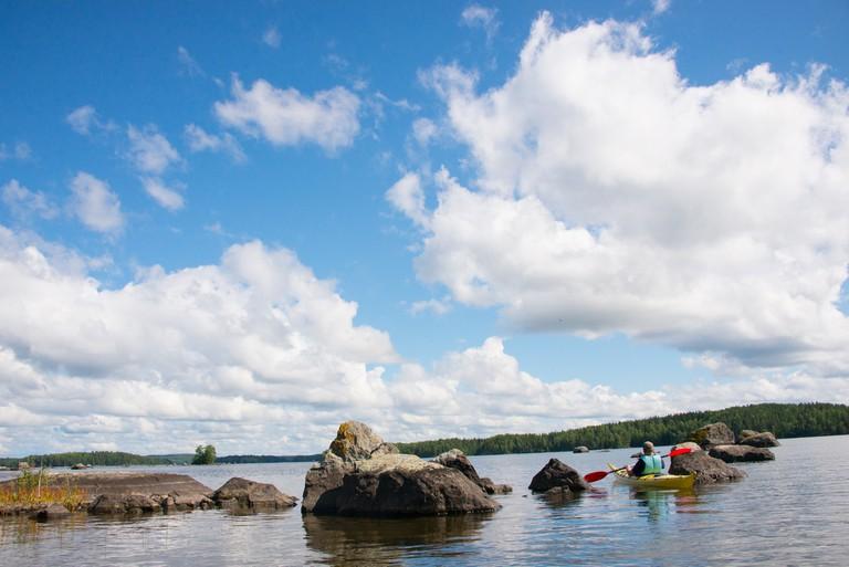 Lake in Pälkäne