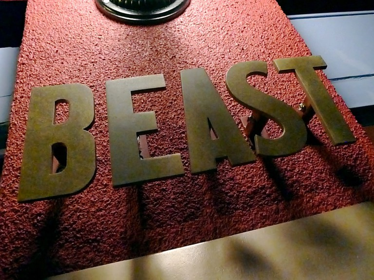 Beast for our first night's dining pleasure