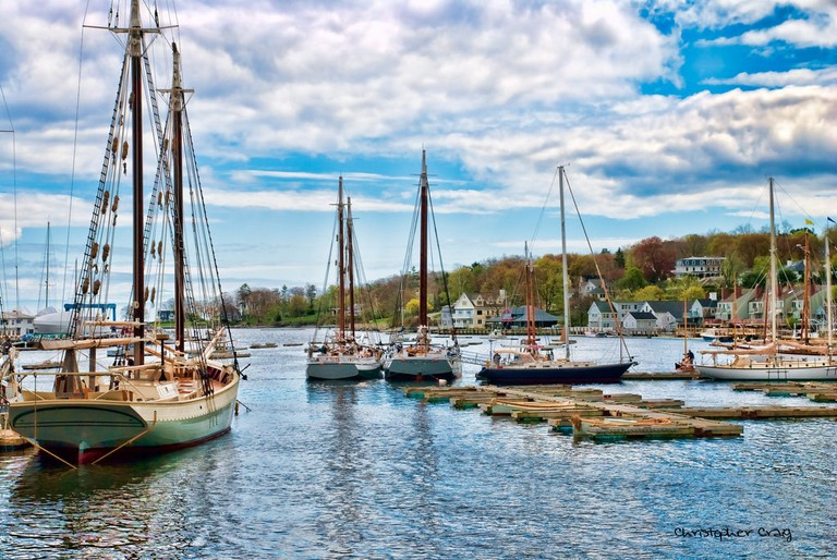 Camden Harbor Ι © Christopher Craig/Flickr