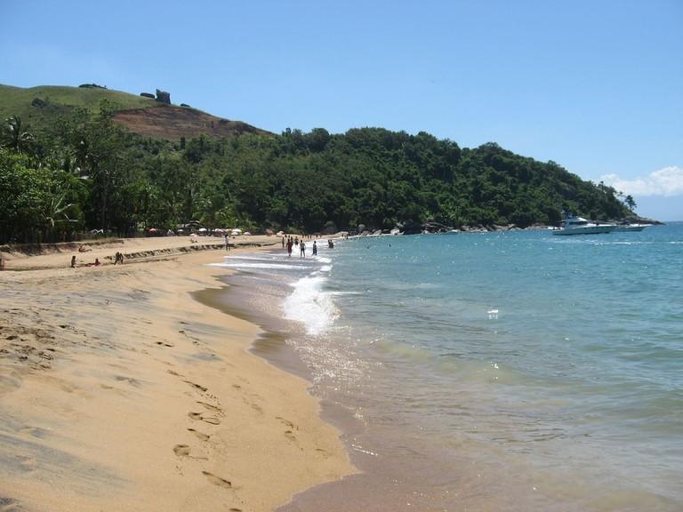 Praia do Jabaquara, Ilhabela
