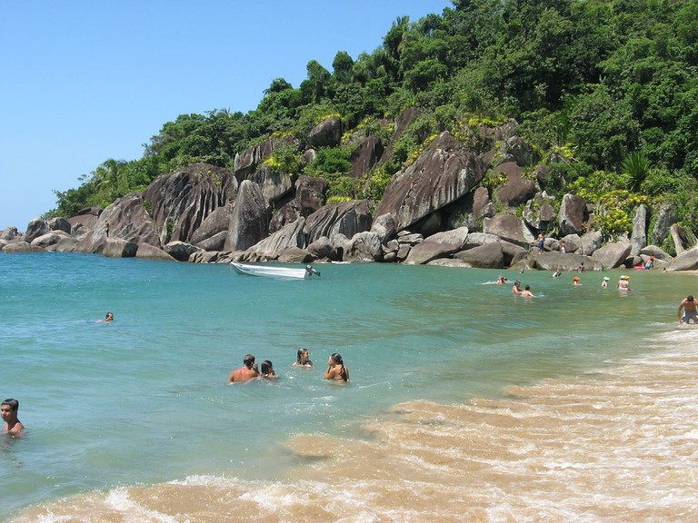 Ilhabela's beaches are surrounded by native forests