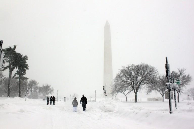 Washington Memorial Winter