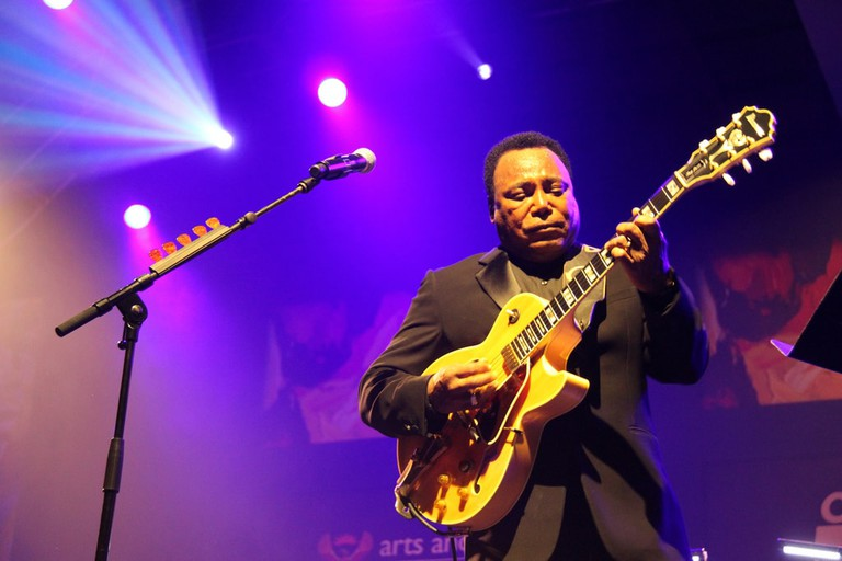 George Benson at the Cape Town International Jazz Festival