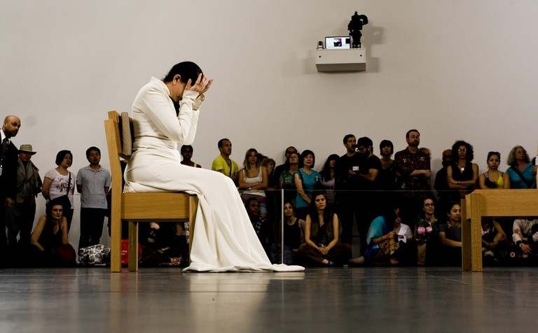 Marina Abramović in 'The Artist is Present'