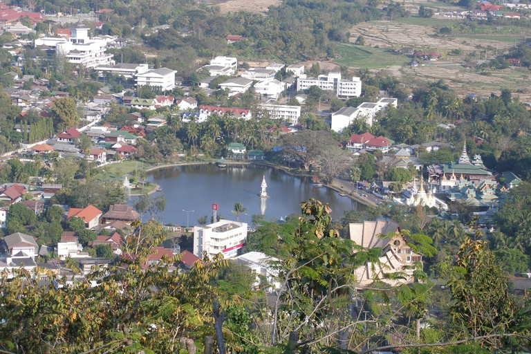 Mae Hong Son from above