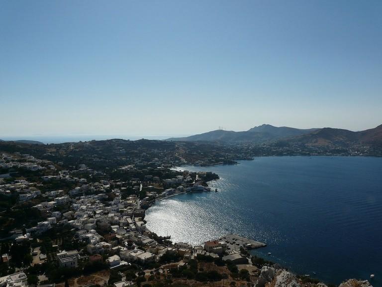 View of Agia Marina, Leros