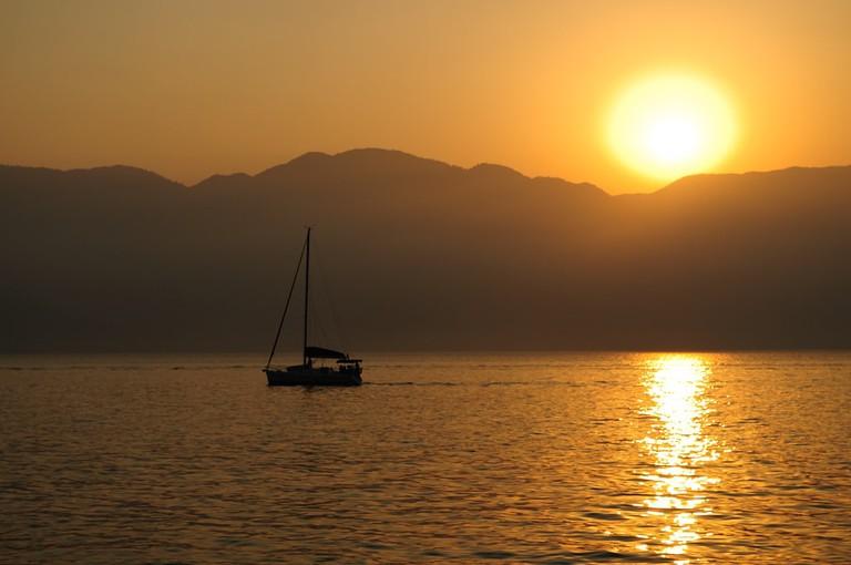 Sunset at Ilhabela