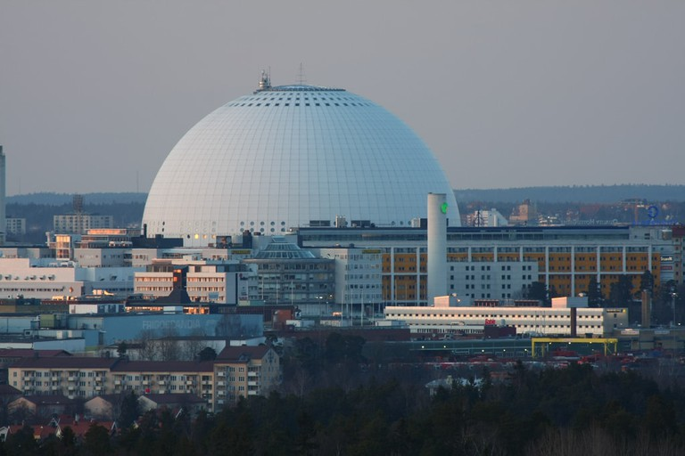 Eurovision 2000 was held at the stunning Globen Arena