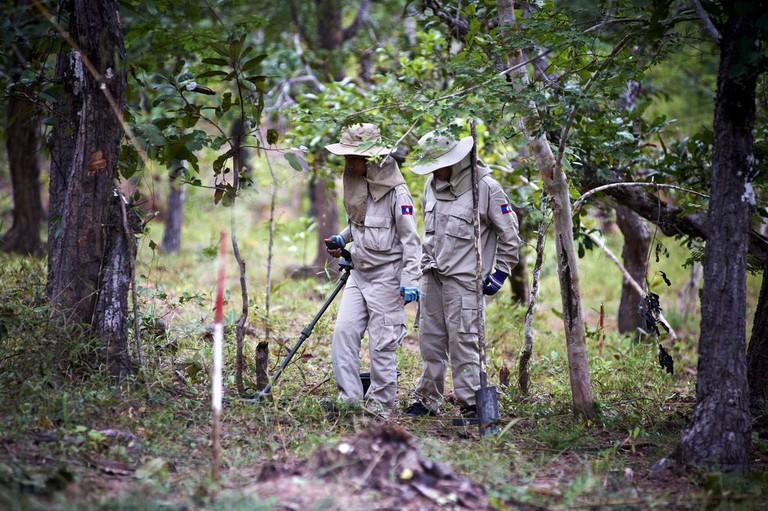 Lao PDR Cluster Munition Coalition (CMC) Media Trip