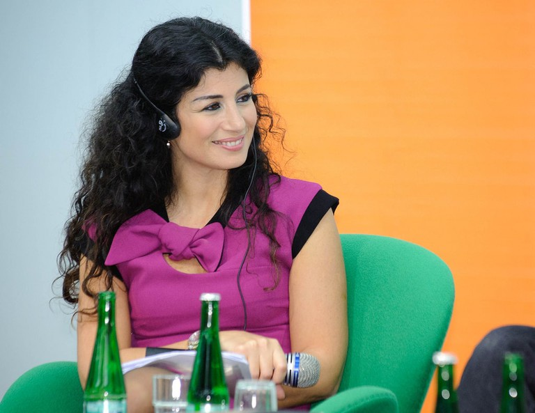 Joumana Haddad is one of the leading novelists and activists in the Arab world