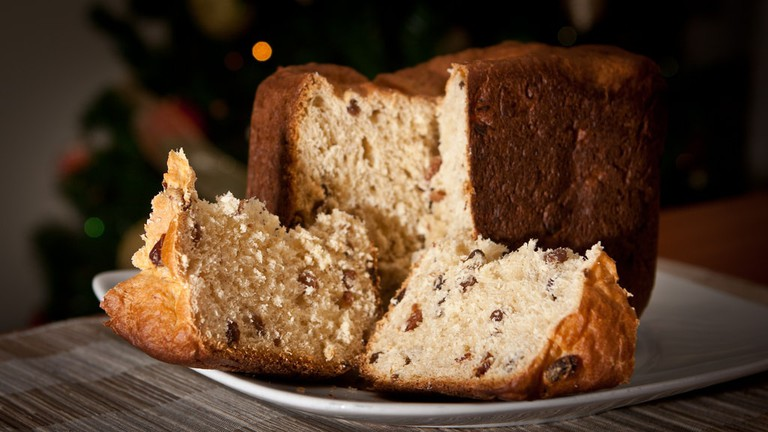 Panettone is a popular dessert option at the Brazilian Christmas table
