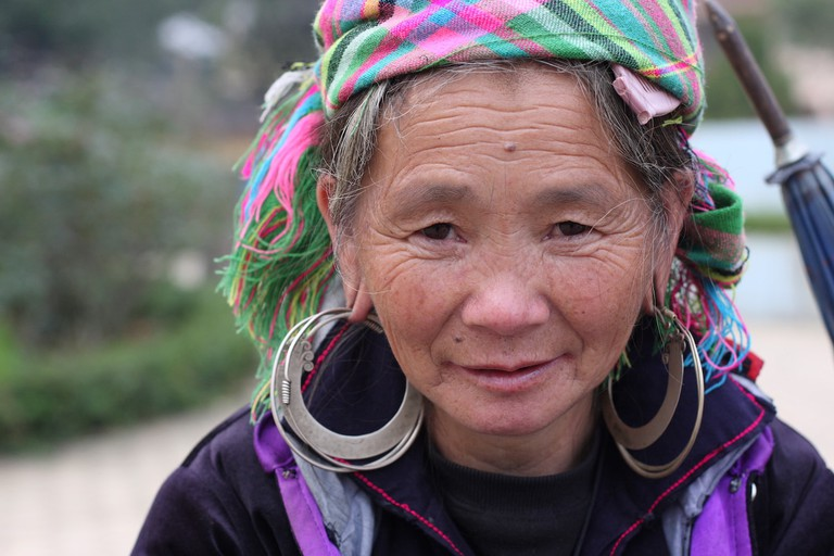Woman in Sapa, Vietnam