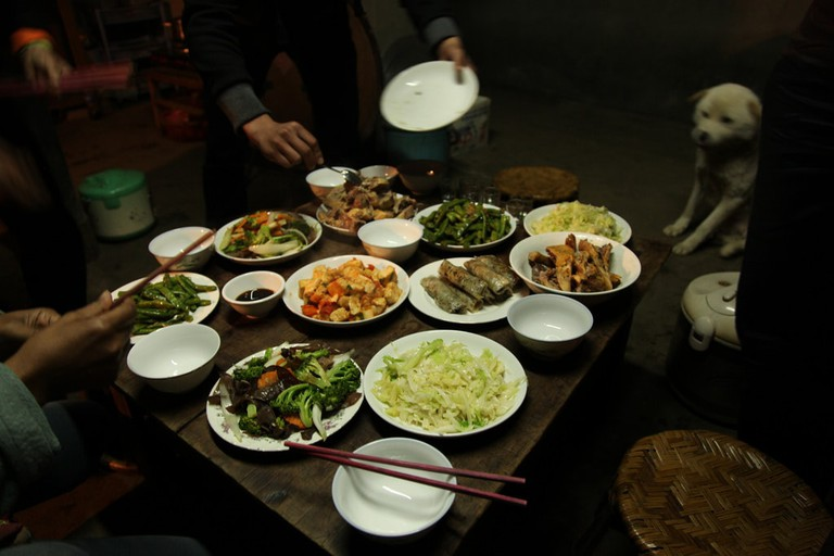 Yet another Vietnamese feast | © Jeremy Weate/Flickr