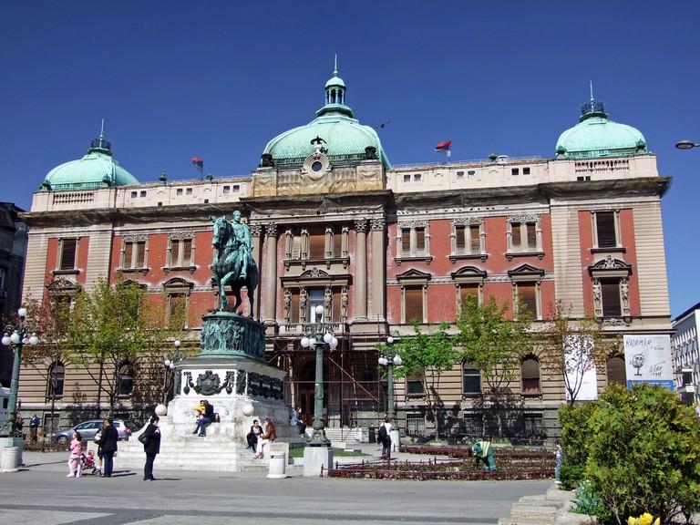 Republic Square in Belgrade